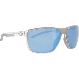 Red Bull SPECT Drift Lunettes de soleil Homme, x'tal clear/smoke with ice blue mirror polarized